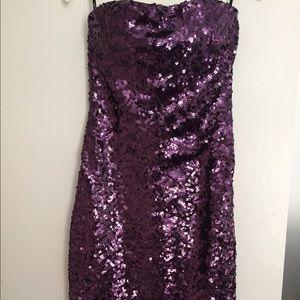 Women's / Juniors Evening Sequence Dress S